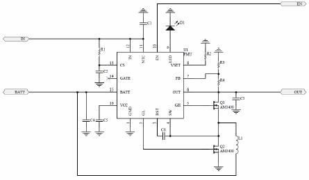 ²  支持5v/9v/12v  输出,具有恒功率输出功能,充电的过程中允许